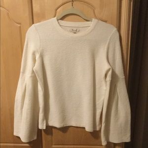 Madewell Top with Bell Sleeves